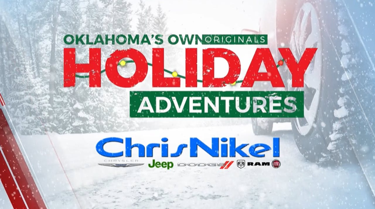 """We could all use a break this holiday season, and there are plenty of places to safely visit in Oklahoma to help us unwind! News On 6 explores some of the fun getaways in our state in """"Oklahoma's Own Originals: Holiday Adventures""""."""