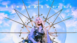 Ava Max performs Kings & Queens