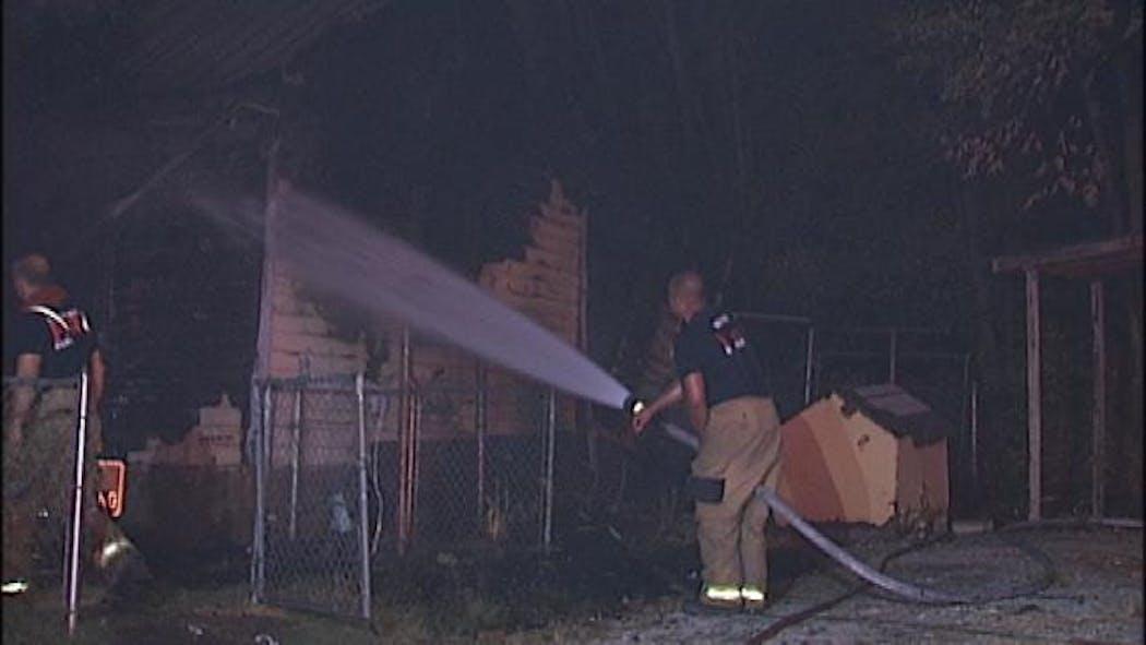 Sands Springs Man Accused Of Arson, Making Meth