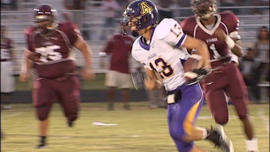 Anadarko Warriors Dominate in Opener