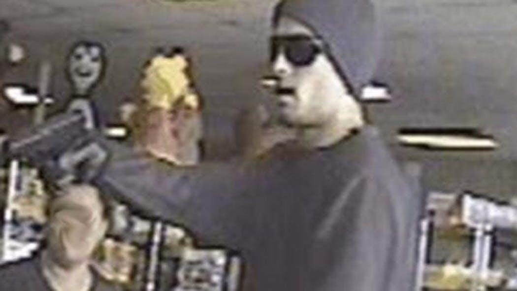 Robber Brandishes Handgun During Robbery Of Tulsa Video Store