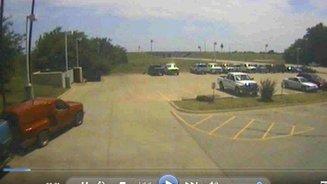Carpooling Worker Sees His Stolen Truck Drive By Near Chouteau