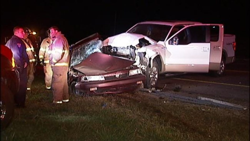 One Person Killed In Two-Vehicle Highway Crash In Northern Tulsa County