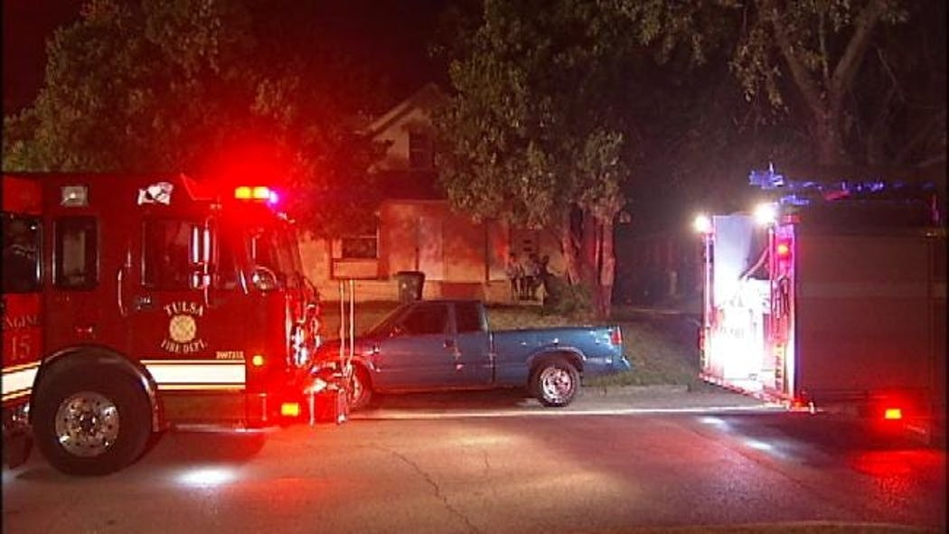 Tulsa Garage Apartment Destroyed By Fire