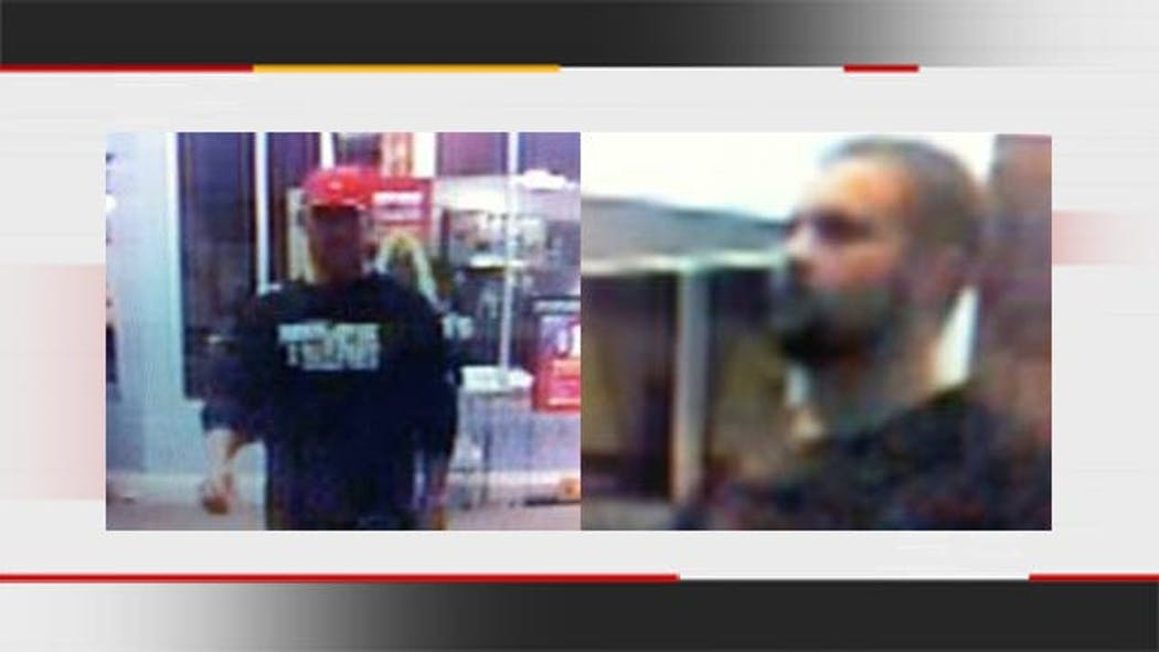 Tulsa Police Look For Two Burglary Suspects