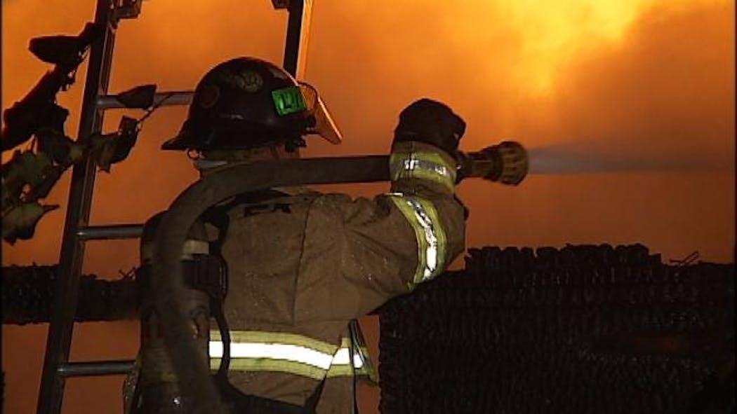 Fire Destroys Tulsa Home Early Thursday