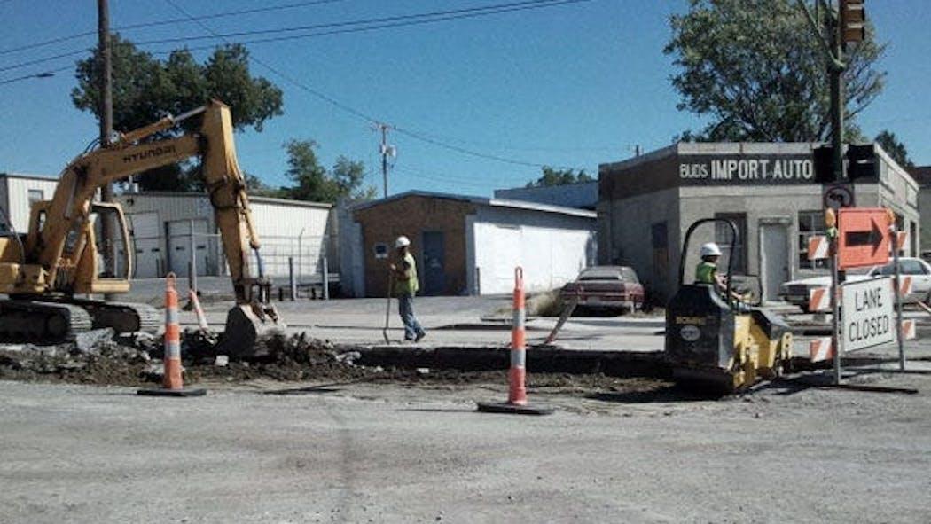 Demolition Begins At Busy Tulsa Intersection