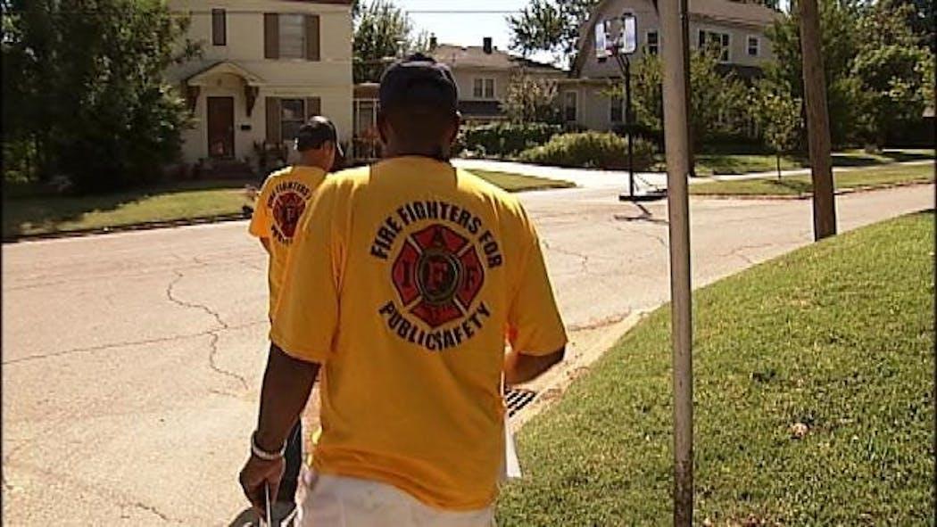 Tulsa Firefighters Union Hits Campaign Trail Despite Mayor's Directive
