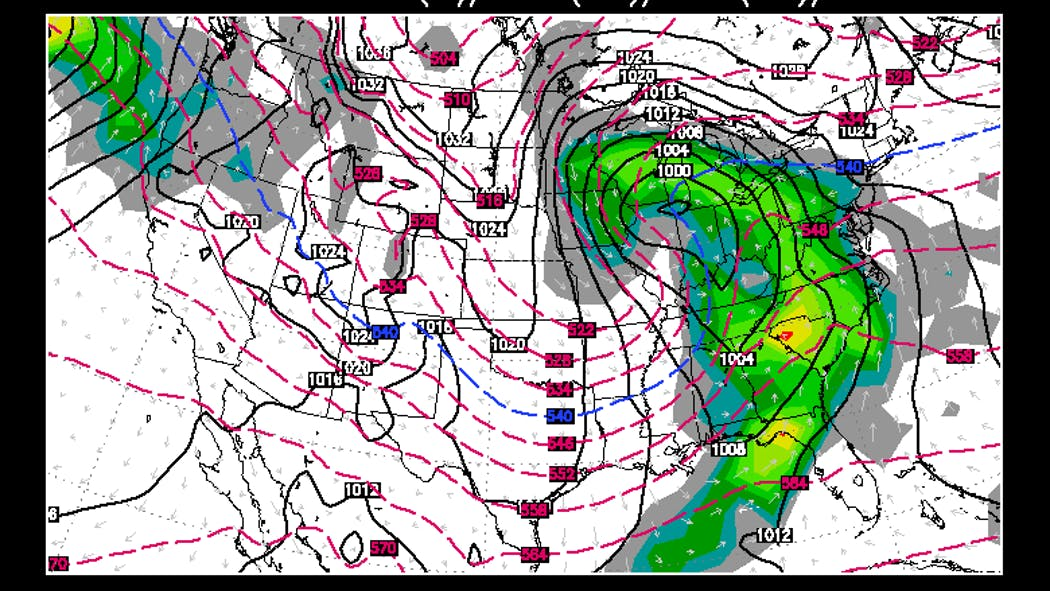 Uncertainty Abounds With Christmas Week Storm