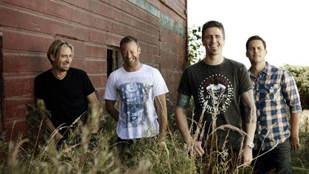 Nickelback Coming To Tulsa's BOK Center In Early June