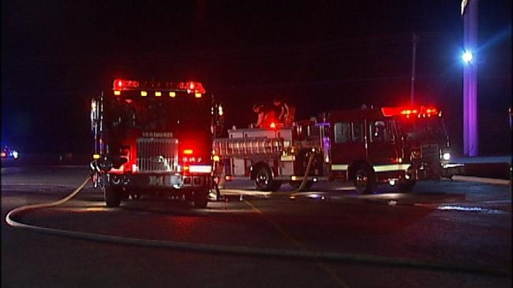 Trailer Carrying Rare Cars Catches Fire In Verdigris