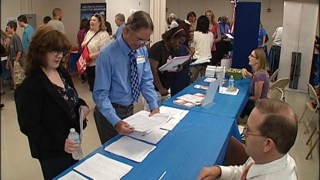 Hundreds Of Oklahomans Seek Jobs At The Goodwill Job Fair