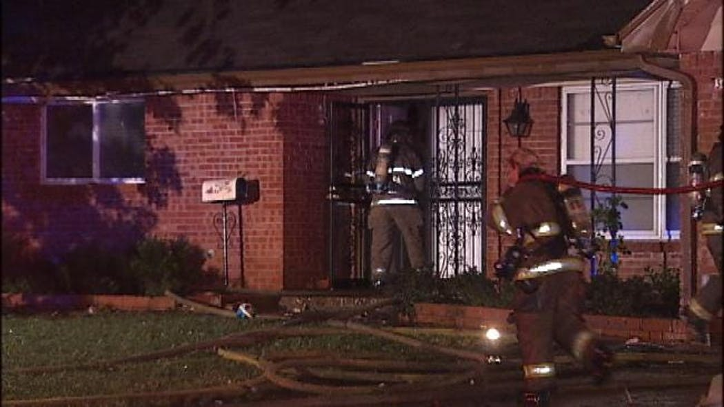Lightning Strike Suspected Cause Of Tulsa House Fire
