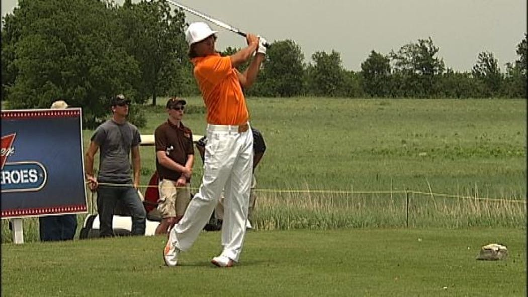 Golf Celebrities Participate In Patriot Cup Near Owasso