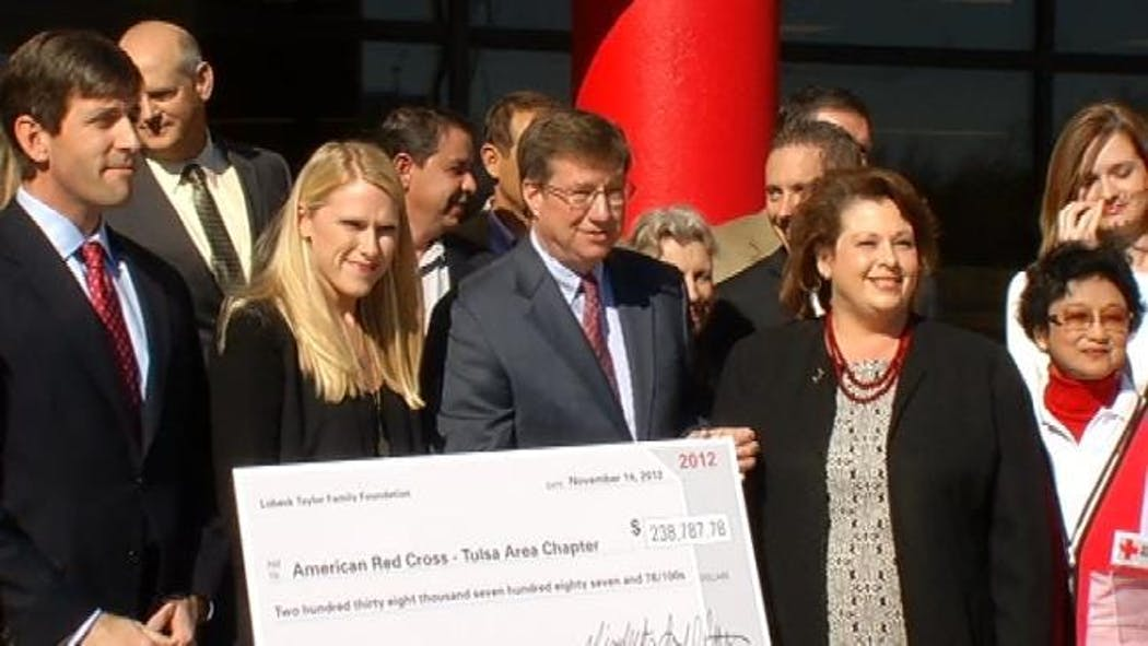 Tulsa-Area Red Cross Receives Over $238,000 From Local Foundation
