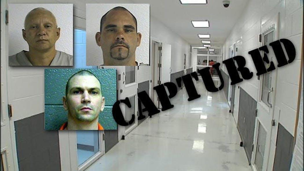 Three Vinita Prison Escapees Captured