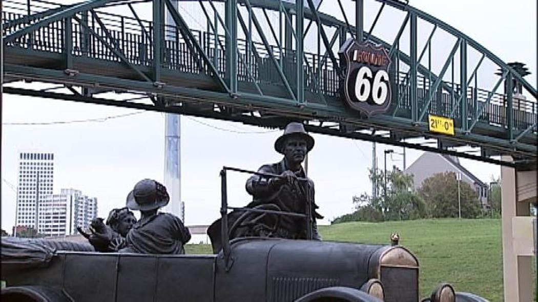 'Father' Of Mother Road Depicted In New Tulsa Route 66 Statue