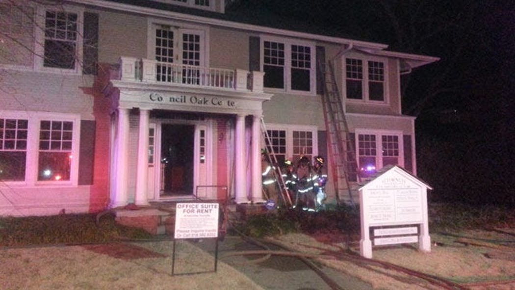 Cause Of Tulsa Office Building Fire Under Investigation