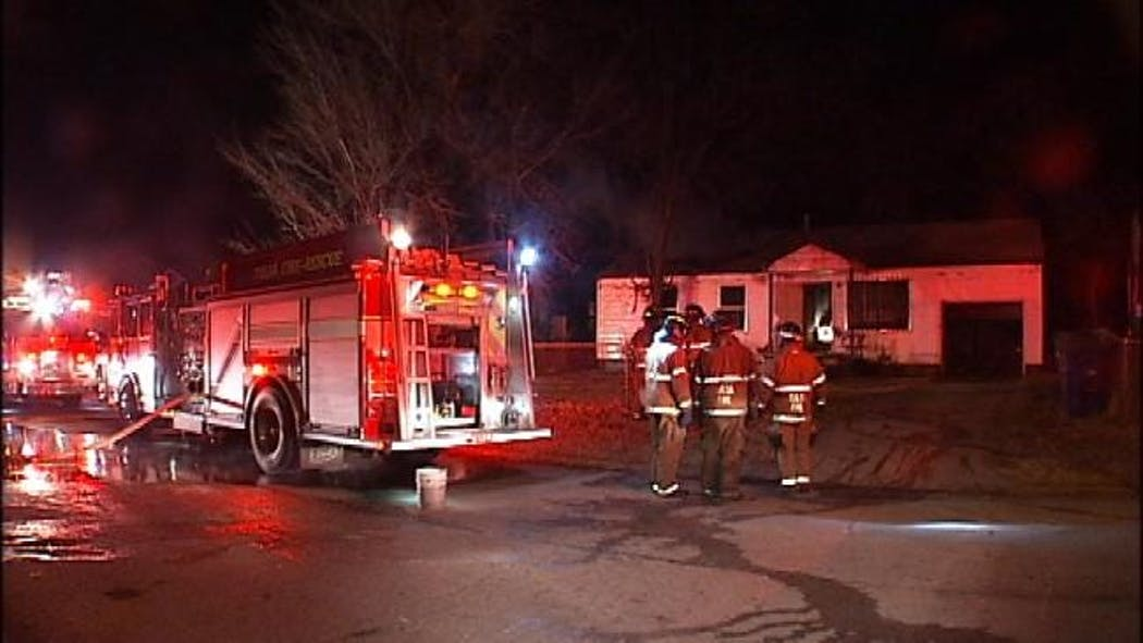 North Tulsa Home Damaged By Fire