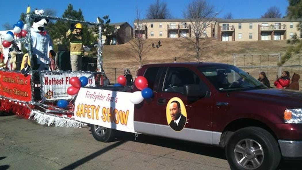 Tulsa Martin Luther King Parade Honors Civil Rights Leader