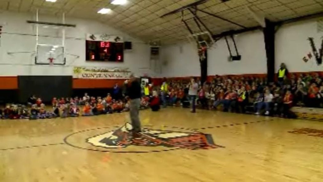 Watts Students Whistle While Attempting To Set World Record