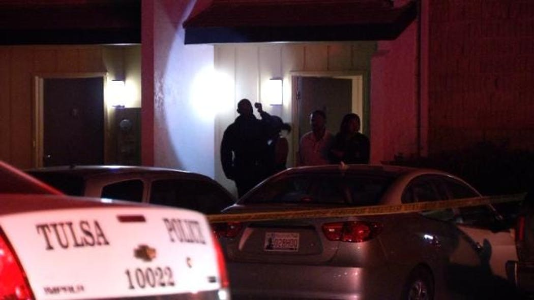 Police Say Bullets Were Flying At East Tulsa Apartments ...