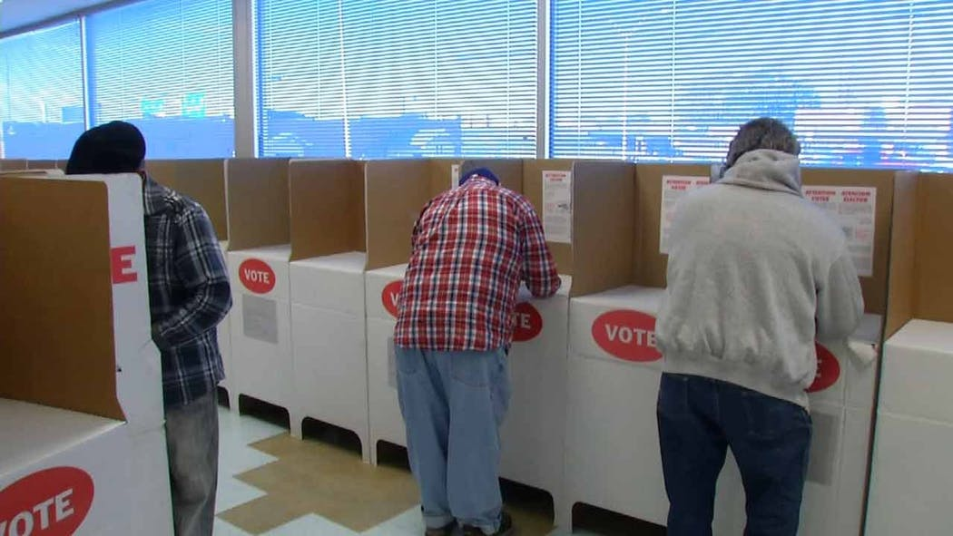 Early Voting Begins In Several Oklahoma Counties