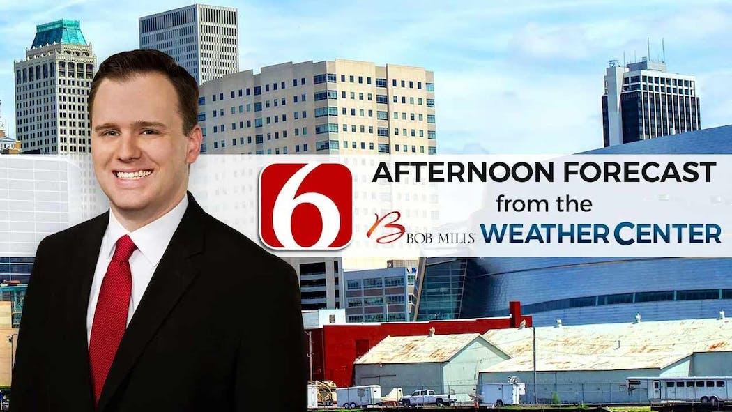 Stephen Nehrenz Afternoon Forecast