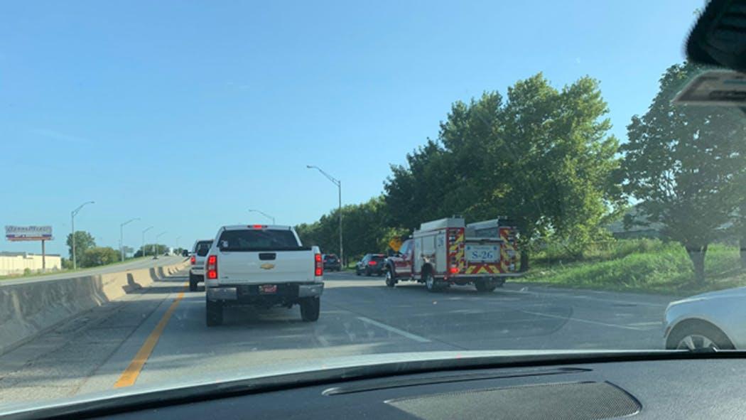 I-244 Crash