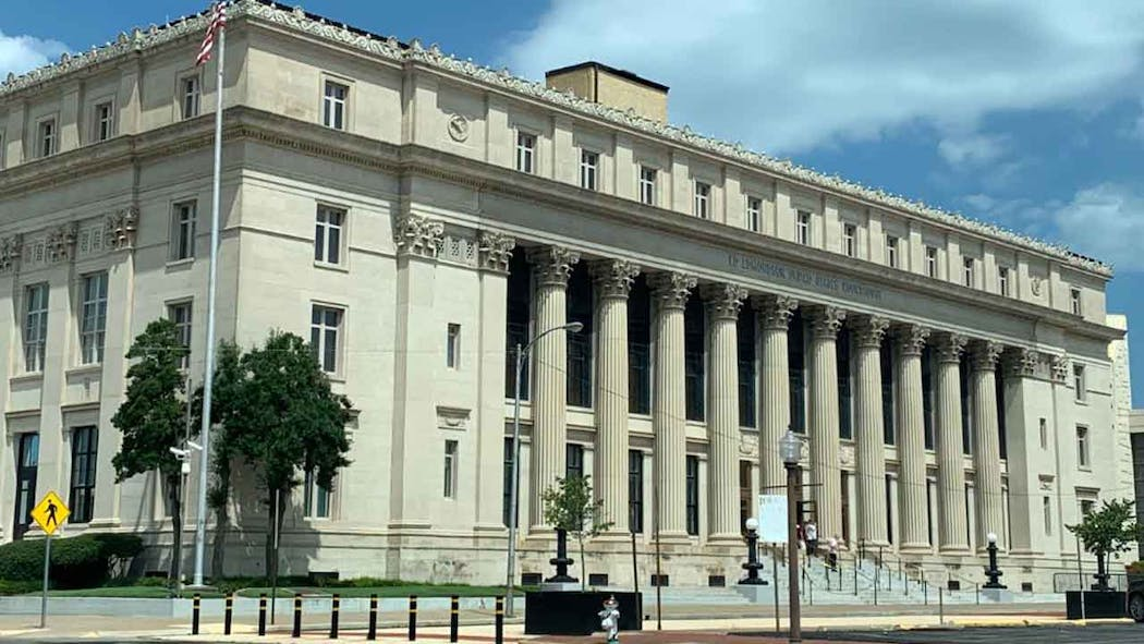Federal courthouse in Muskogee, Oklahoma.