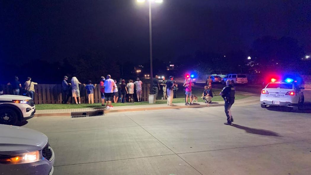 Tulsa Shooting Near QT Aug. 29, 2020
