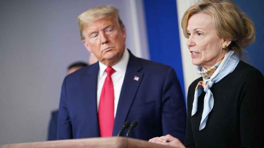 Trump and Dr. Birx