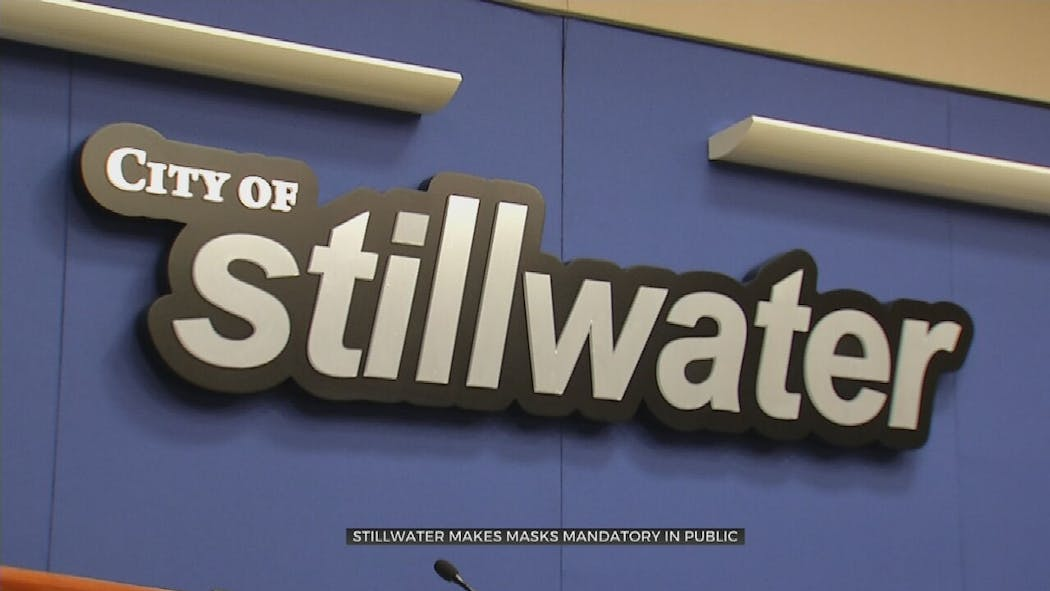 City of Stillwater sign.