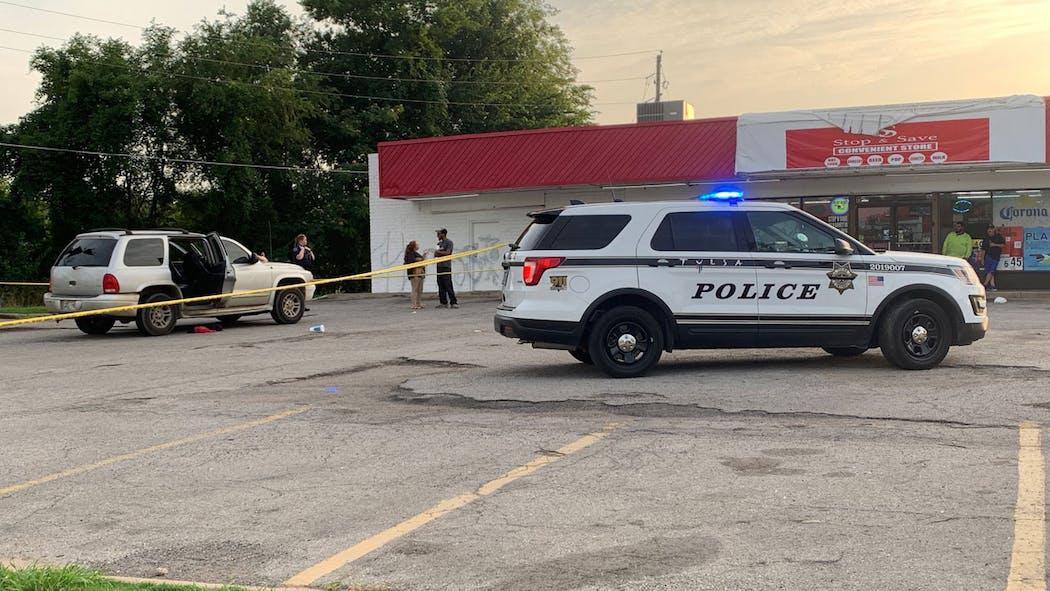 Tulsa Police respond to shooting