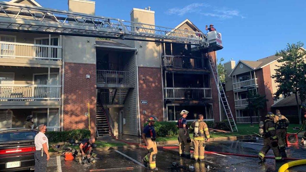 Welsford Oaks Apartment Fire 9-2