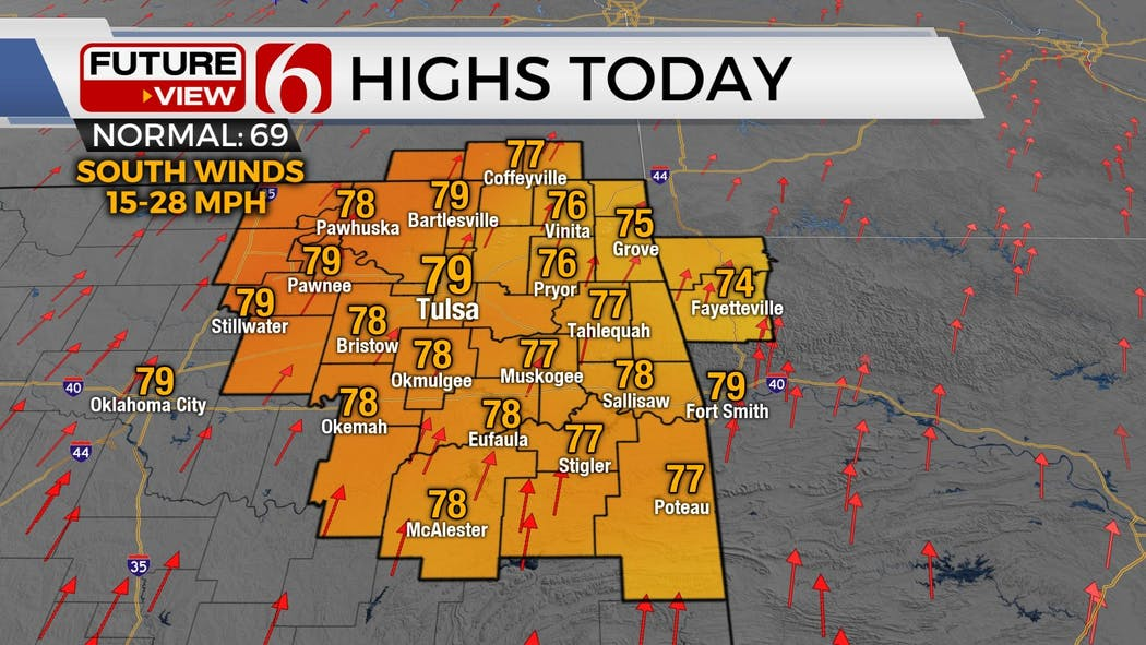 Monday Weather 4-5-21
