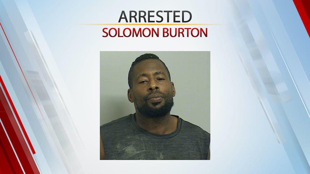 Solomon Burton Arrested