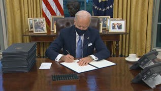 President Biden Signs First Executive Orders On Climate, Virus