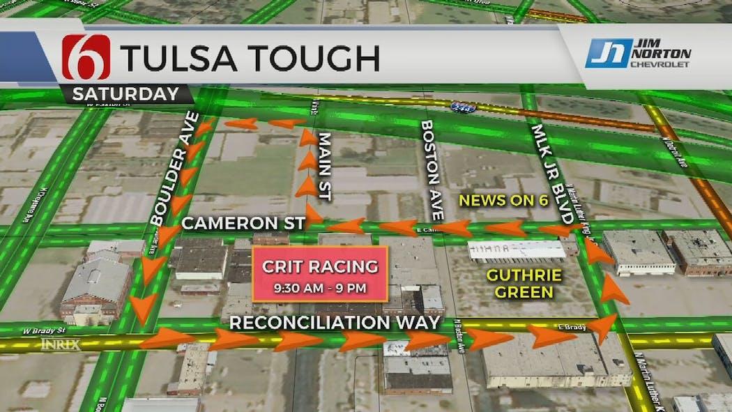 St. Francis Tulsa Tough Kicks Off In Downtown Tulsa