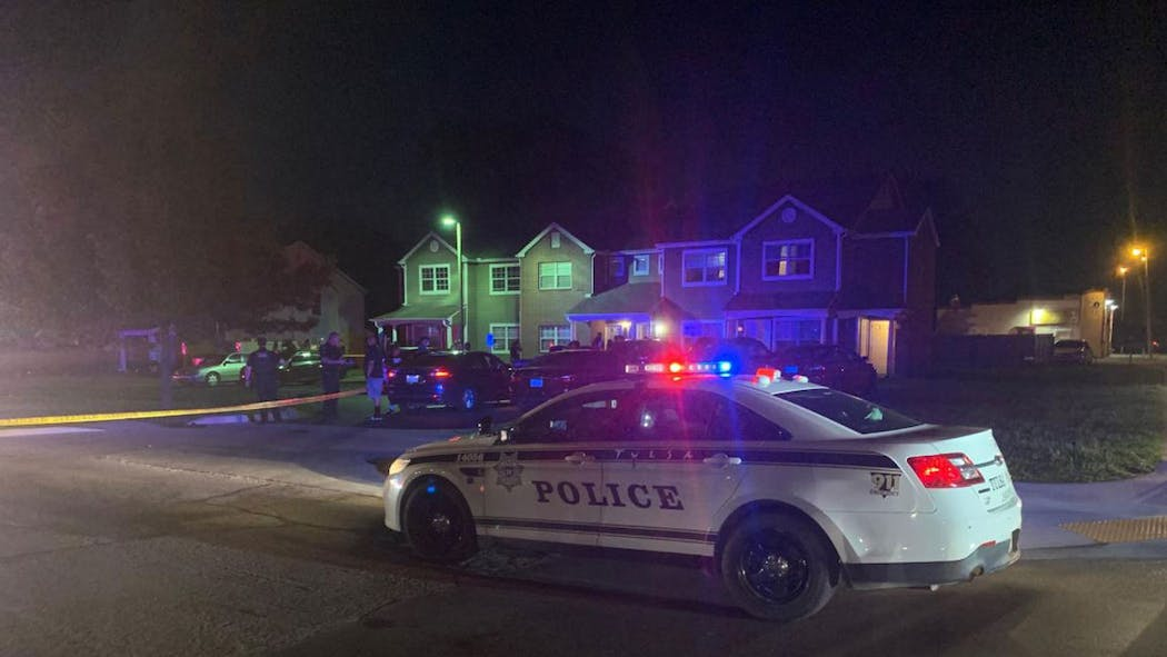 Tulsa police double fatality May 15, 2021