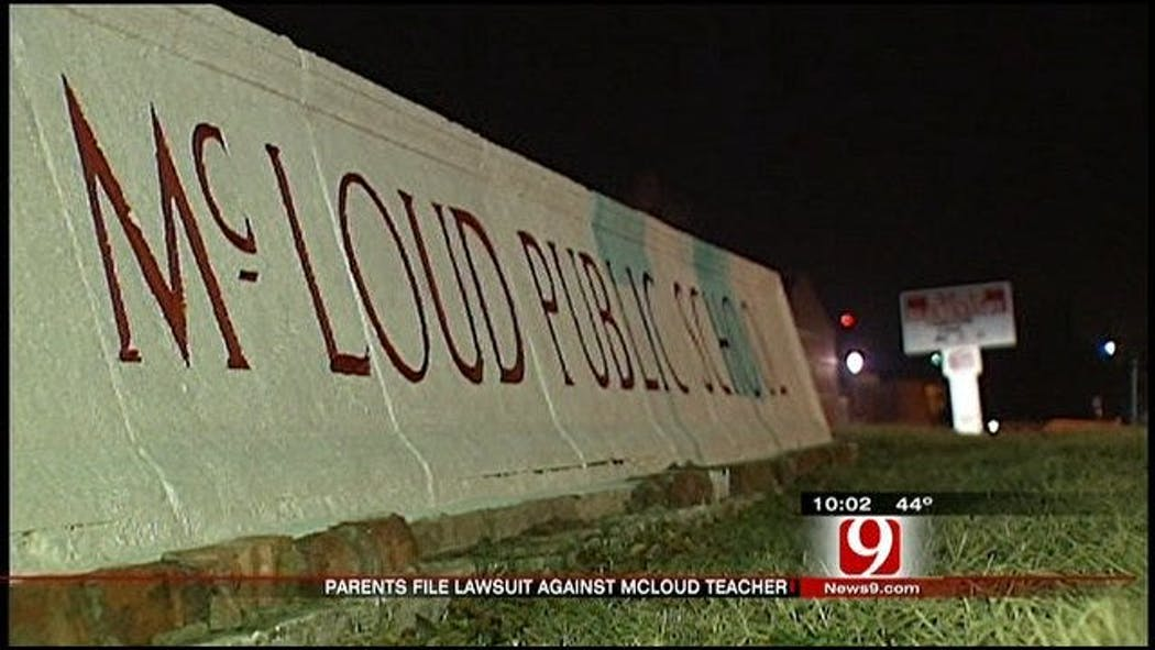Parents Sue McLoud Teacher For Inappropriate Behavior