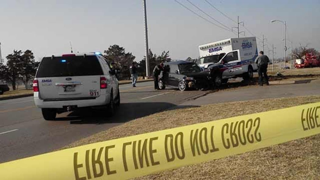 EMSA Driver Charged In Deadly Oklahoma City Crash