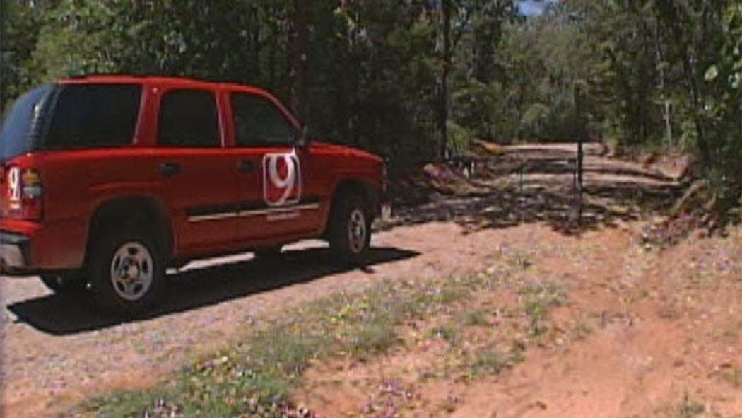 Gunfire Greets News 9 Crew At Norman's Bavinger House