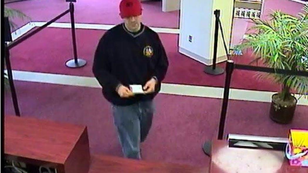 FBI Seeks Suspect In Oklahoma City Bank Robbery