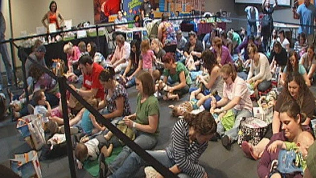 OKC Parents Attempt To Break World Record With Diaper Changing Event