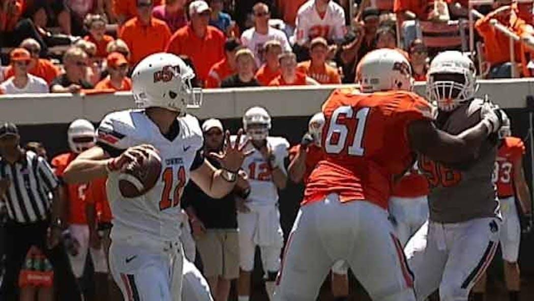 Oklahoma State Names Starting Quarterback