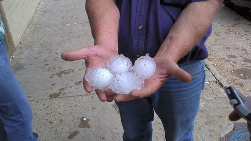 Two People Injured As Severe Weather Pounds Northwest Oklahoma