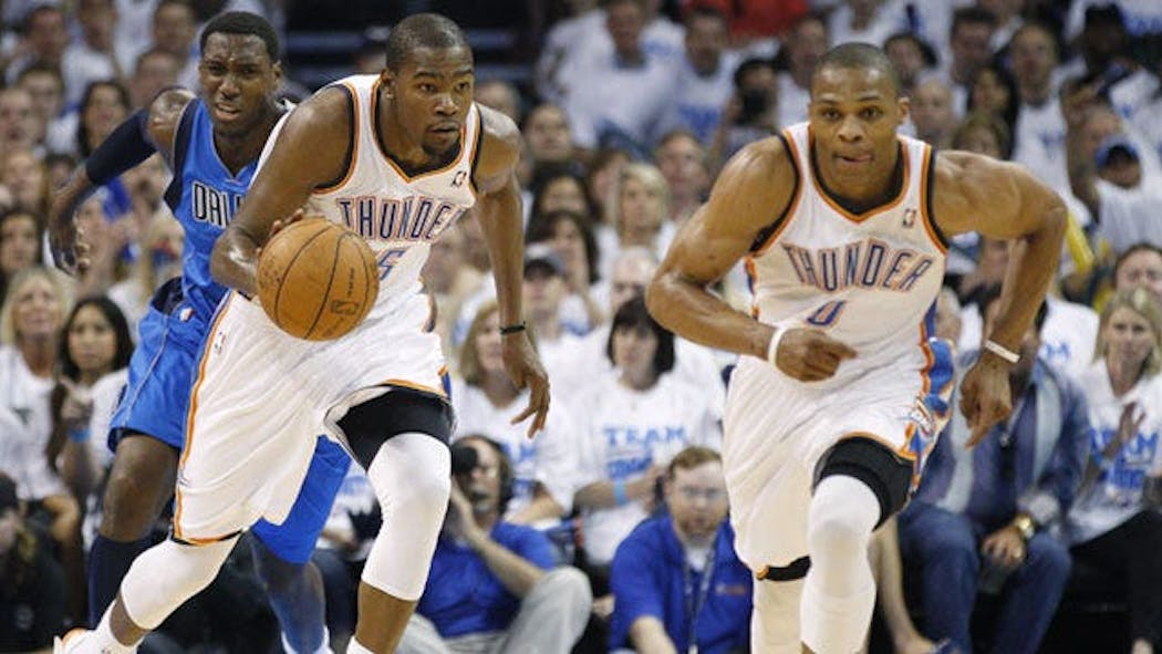 Thunder Hold Off Mavericks To Take 2-0 Series Lead
