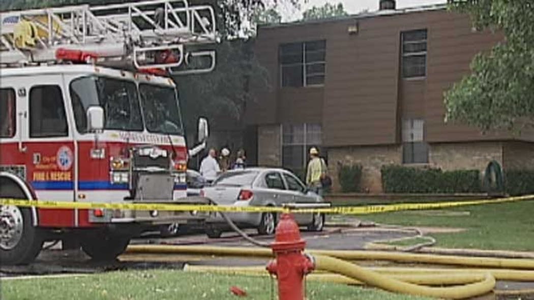 Two Young Boys Killed In Apartment Complex Fire In Midwest City