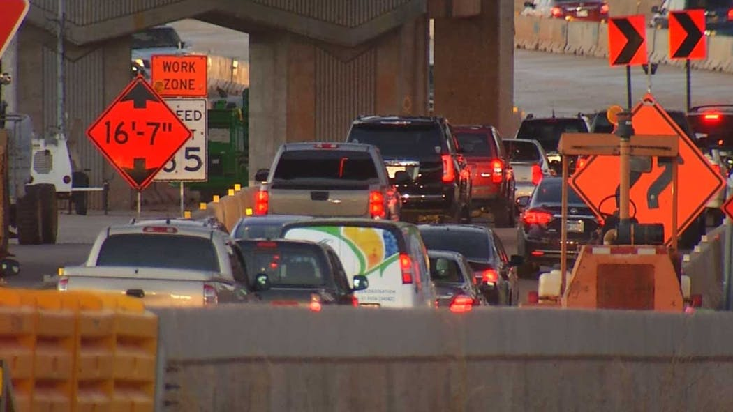 ODOT To Close I-235, I-44 Interchange For Weekend Of Jan. 31 Through Feb. 3